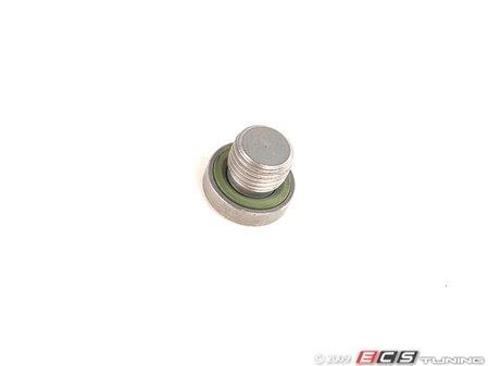 ES#44733 - 24117552351 - M10 Screw Plug - Includes gasket ring - Genuine BMW - BMW