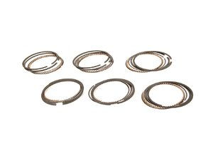 ES#4638 - 021198151G - Piston Ring Set - Complete - Seals piston to cylinder wall, includes enough rings for six standard 81mm pistons - Grant - Volkswagen