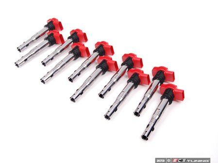 ES#2680936 - 06E905115EKTT - Ignition Coil - Set Of Ten - Take care of misfires and keep your engine running smooth - NFIS Original Equipment - Audi