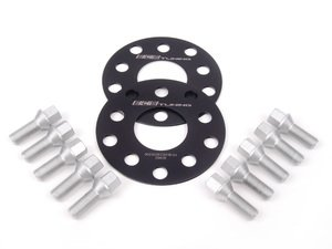 ES#2680960 - 06255571ECSWBK1 -  ECS Wheel Spacer & Bolt Kit - 3mm With Conical Seat Bolts - Complete kit for two wheels, comes with everything you need to install spacers on your aftermarket wheels - ECS - Audi Volkswagen