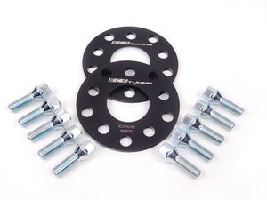 ES#2680962 - ECS10242KTWBLT1 -  ECS Wheel Spacer & Bolt Kit - 6mm With Conical Seat Bolts - Complete kit for two wheels, comes with everything you need to install spacers on your aftermarket wheels - ECS - Audi Volkswagen