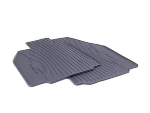 ES#1472181 - 98704480094 - Rubber Floor Mat Set - One set of two rubber mats - Genuine Porsche - Porsche