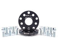 ES#2680971 - 30255571ECSWBK1 -  ECS Wheel Spacer & Bolt Kit - 15mm With Conical Seat Bolts - Complete kit for two wheels, comes with everything you need to install spacers on your aftermarket wheels - ECS - Audi Volkswagen