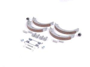 ES#1653975 - 1244200720 - Parking Brake Shoe Kit - Includes all hardware needed for installation - Genuine Mercedes Benz - Mercedes Benz