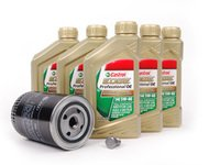 ES#2680973 - 068115561BKT2 - Oil Service Kit - Everything you need to perform an engine oil service - Genuine Volkswagen Audi - Audi