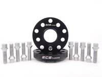 ES#2680976 - ECS40255571WBK1 -  ECS Wheel Spacer  Bolt Kit - 20mm With Conical Seat Bolts - Complete kit for two wheels, comes with everything you need to install spacers on your aftermarket wheels - ECS - Audi Volkswagen
