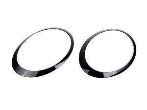 ES#2608661 - 51132254895KT - Headlight Trim Ring Jet Black - Set - Upgrade to the jet black rings : left and right side - Genuine MINI - MINI