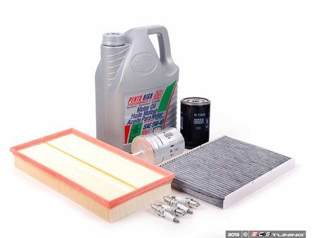 ES#2680974 - 1J0201511AKT - 40k Service Kit - Standard Size Oil Filter - Everything you need to perform the recommended 40k mile service - Assembled By ECS - Audi