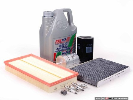 ES#2680979 - 1J0201511AKT2 - 40k Service Kit - Large Size Oil Filter - Everything you need to perform the recommended 40k mile service - Assembled By ECS - Audi