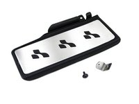 ES#261054 - 1k0798000 - R-Line Dead Pedal Kit - Includes a modified pedal and ECS adapter plate, for a bolt on installation - Assembled By ECS - Volkswagen