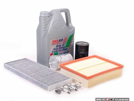 ES#2681125 - 1H0201511AKT - 40k Service Kit - Standard Size Oil Filter - Everything you need to perform the recommended 40k mile service - Assembled By ECS - Audi
