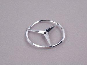 ES#1785731 - 2207580058 - Mercedes-Benz Emblem - Located on trunk lid - Genuine Mercedes Benz - Mercedes Benz