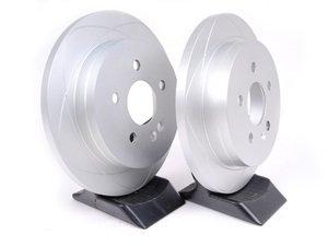ES#2608783 - 1634230112KT4 - Rear Brake Rotor - Pair - Solid Rotor 285 mm Diameter - ATE Premium One - Mercedes Benz