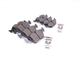 ES#2592983 - HB135Z.770KT - Front And Rear Brake Pad Kit - Hawk Ceramic - Pads featuring ceramic composite compound for ultra low noise and dust - Hawk - BMW