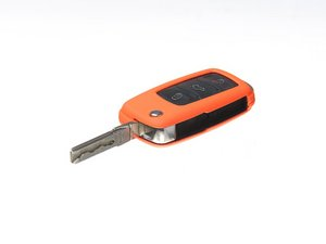 ES#2568128 - 3592RKLN12083 - Remote Key Cover Plastic - Orange - Snap on covering for your switchblade style key - ECS - Volkswagen