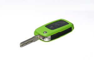 ES#2581186 - 3592RKLN12562 - Remote Key Cover Plastic - Green - Snap on covering for your switchblade style key - ECS - Volkswagen