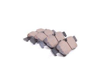 ES#2681338 - 1644201920 - Rear Euro Ceramic Brake Pad Set - Includes wear sensors - Akebono - Mercedes Benz