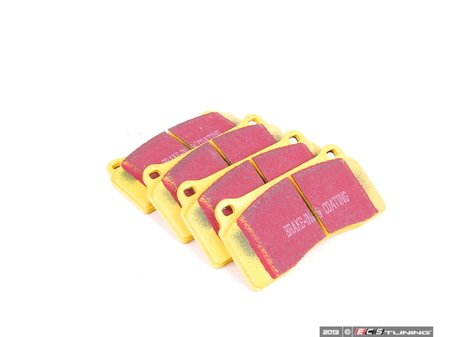 ES#520717 - DP41110R -  YellowStuff Performance Brake Pads - Race quailty pad that can be used at the track and get you back home - EBC - Audi