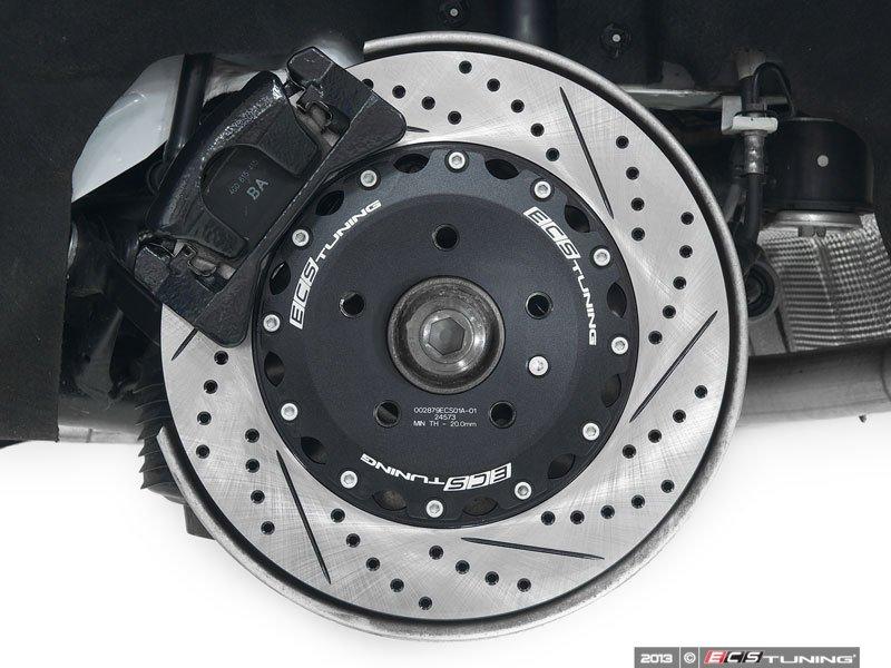 ecs news 2 piece rear brake rotors for audi b8 s4 s5 q5. Black Bedroom Furniture Sets. Home Design Ideas