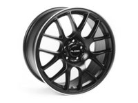 """ES#2684957 - 883-2 - 18"""" Style 883 Wheels - priced each - (NO LONGER AVAILABLE) - 18""""x8"""" ET30 66.6CB 5x112 Black With Machined Edge - Alzor - Audi"""