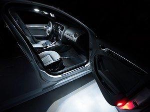 ES#2210295 - B8S4DOOR - LED Door Puddle Lighting Kit - Transform you door puddle lighting with new LED bulbs from Ziza - ZiZa - Audi