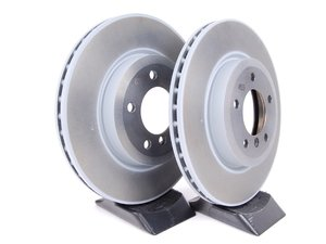 ES#10489 - 34116855156KT1 - Front Brake Rotors - Pair (325x25) - From a leader in braking technology. - Brembo - BMW