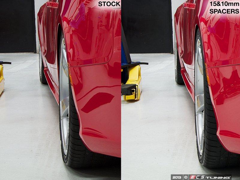 ECS News - ECS Wheel Spacer Flush Fit Kits for Audi RS5