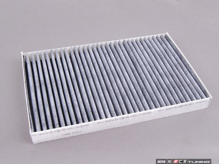 ES#252838 - 4B0819439A - Charcoal Lined Cabin Filter / Fresh Air Filter  - Filter the air coming into your vehicle. - Bosch - Audi