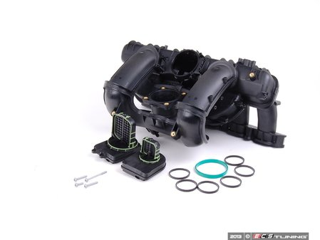 ES#3072586 - 11617559523KT3 - Intake Manifold Upgrade Kit - Bolt-on 3-stage intake manifold featuring an OE BMW intake manifold with high quality DISA valves and gaskets - Assembled By ECS - BMW