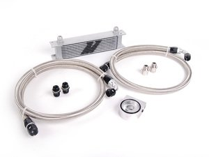 ES#2764288 - MM0CU - Universal Oil Cooler - 10 Row - Upgrading cooling for your engine oil - Mishimoto - Audi BMW Volkswagen MINI