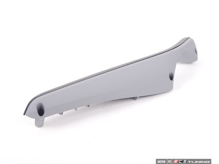 ES#100190 - 51417904071 - Front Left Armrest - Gray/Black Cube Aluminum - Fits both coupe and convertible models - Genuine BMW - BMW