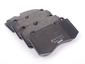 ES#2575737 - 0044208020 - Front Brake Pad Set - Does not include brake pad wear sensor - Textar Ceramic - Mercedes Benz