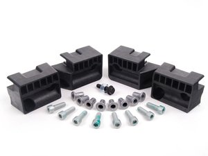 ES#2598405 - 8E0801789KT2 - RS4 Jack Pad Kit - Add OEM RS4 jack pads to your B6 or B7 Audi - Assembled By ECS - Audi