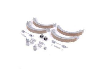 ES#1727930 - 2034200120 - Parking Brake Shoe Kit - Includes all hardware needed for installation - Genuine Mercedes Benz - Mercedes Benz