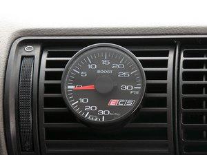 ES#2681639 - 001576ECS02KT - ECS Vent Pod Boost Gauge Kit - Vent-mounted digital boost gauge for B5 A4 looks factory installed - ECS - Audi