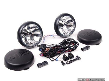 ES#172120 - 63120417885 - Driving Lights Retrofit Kit - Black - Add rally lights to your MINI grille - Genuine MINI - MINI