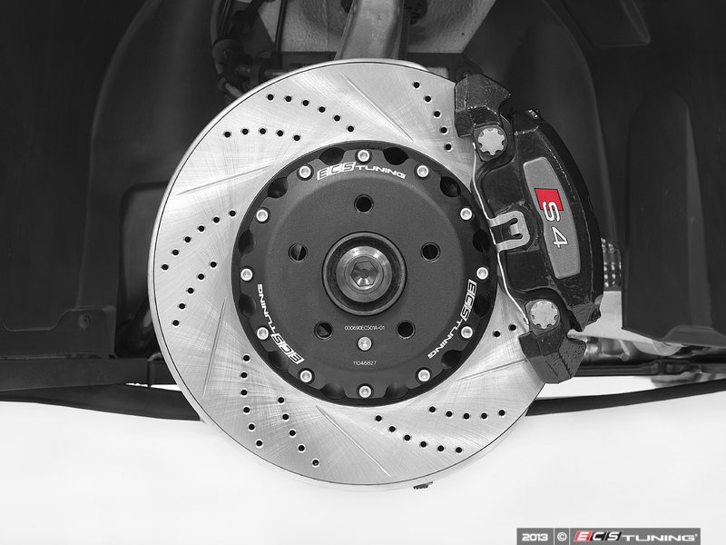 ECS News - Audi B8 S4 ECS 2-Piece ke Rotors Audi S Wheel Rotor on audi s4 tires, audi s4 mesh grill, audi s4 rear differential, audi s4 aftermarket parts, audi s4 front lip, audi s4 brakes, audi s4 lambo doors, audi s4 rims,