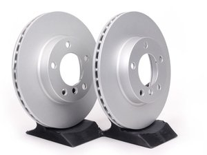 ES#11696 - 34116855153kt5 - Front Brake Rotors - Pair (286x22) - Featuring a protective Meyle Platinum coating. - Meyle - BMW