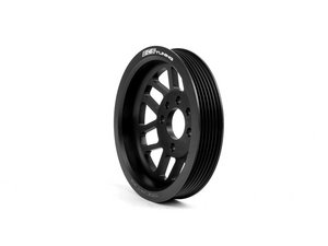 ES#2952057 - 003533ECS01 - ECS Lightweight Crank Pulley - Black - Release hidden power from your drive belt system - ECS - Volkswagen