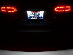 ES#2210294 - B8LPLED - LED License Plate Light Assemblies - Keep your plate illuminated brilliantly with new plate light LED's - ZiZa - Audi