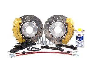ES#2215444 - 34113646 - ECS 6-Piston Front Big Brake Kit (325X25)  - Give your BMW incredible stopping power! - Assembled By ECS - BMW