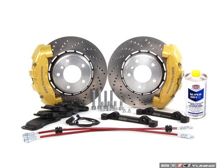 ES#2215444 - 34113646 - ECS 6-Piston Front Big Brake Kit (325X25) - (NO LONGER AVAILABLE) - Give your BMW incredible stopping power! - Assembled By ECS - BMW