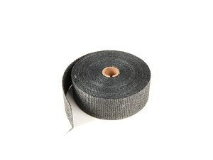 "ES#261429 - 010108 - Black Exhaust Wrap - 2"" X 50ft - Increase power by containing exhaust heat - DEI - Audi BMW Volkswagen Mercedes Benz MINI Porsche"