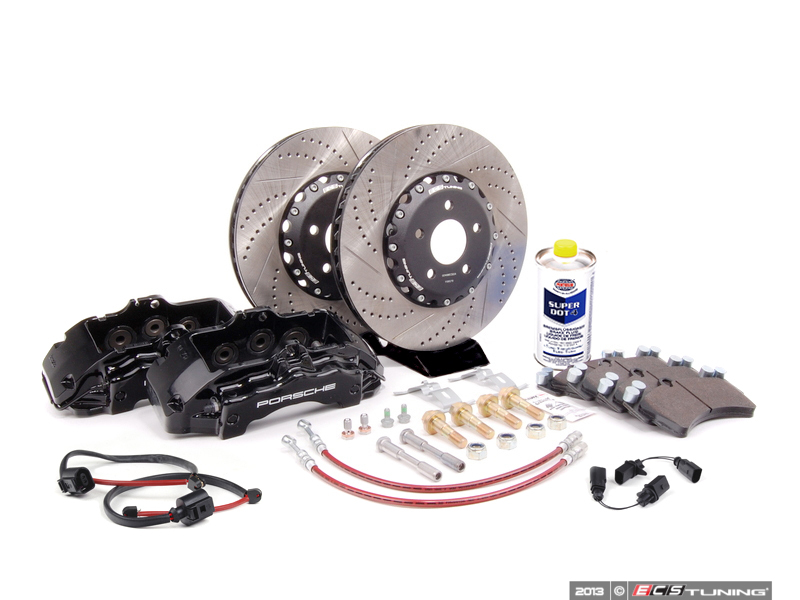 ECS News - Stage 4 Big Brake Kit - Audi B7 A4 05-08