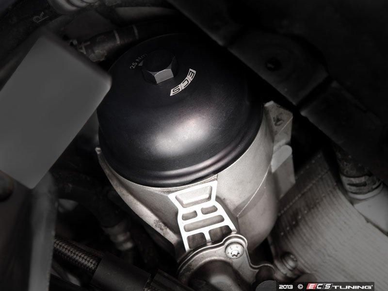 Ecs News Porsche Cayenne Ecs Billet Aluminum Oil Filter