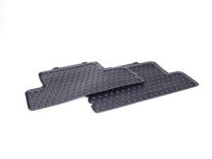 ES#2711011 - 51472239747 - MINI Rear Rubber Factory Floor Mats Set - Priced As Set - Replace or upgrade to factory MINI mats - Genuine MINI - MINI