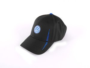ES#2640897 - DRG014068 - VW Performance Cap - Velcro cap with embroidered details - Genuine Volkswagen Audi - Volkswagen