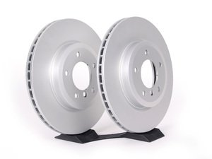 ES#2135718 - 34116855156KT2 - Front Brake Rotors - Pair (325x25) - Featuring a protective Meyle Platinum coating. - Meyle - BMW