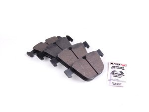 ES#1874132 - HB630N.626 - Rear HP Plus Compound Performance Brake Pad Set - A compound can take the heat at the track and get you home safely. - Hawk - BMW