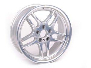 "ES#64661 - 36112229730 - 18"" Style 37 M Parallel Wheel - Priced Each - 18x8 ET 13 72.6 CB - Genuine BMW - BMW"